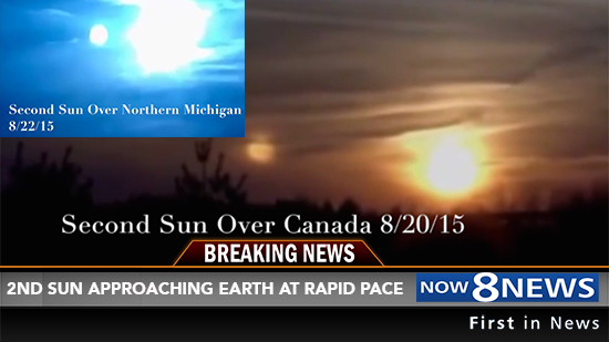 NIBIRU News ~ Scientists Discover Second Sun Approaching Earth and MORE 2-SUNS