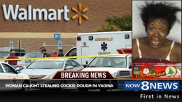 Cookie Dough Can Explodes In Woman's Vagina During Shoplifting Incident
