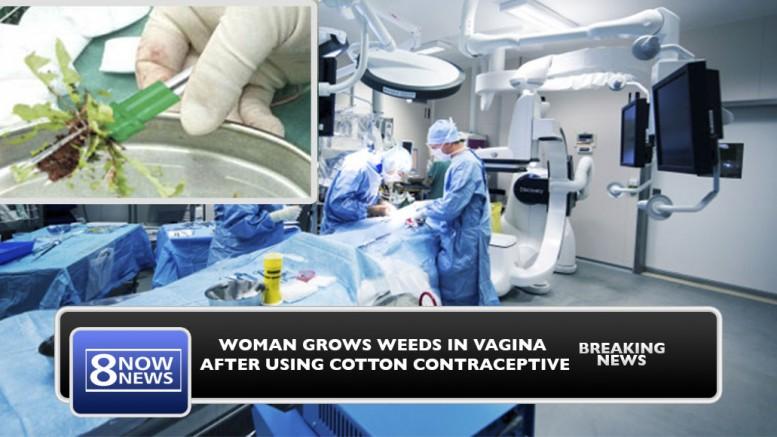 Shove balls in vagina