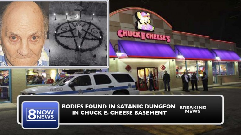 Police Find Satanic Ritual Dungeon In Chicago Chuck E Cheese Basement