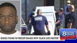 "12 White Female Bodies in Garage Freezer Tagged, ""Black Lives Matter"""