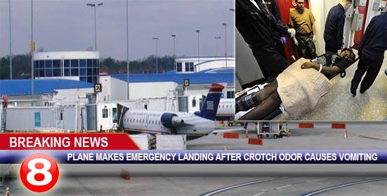 Airplane Forced to Make Emergency Landing Because Woman's
