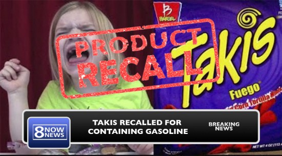 Takis Recall: Scientists Find Large Amounts Of Gasoline In